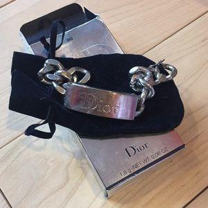 Authentic Dior chain link bracelet